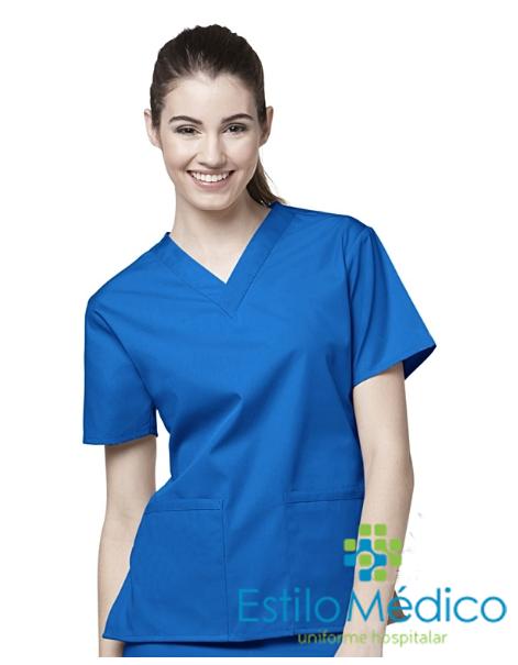 Camisa Scrub Feminino Camisa Scrub Feminino ... c7a0901aa663a