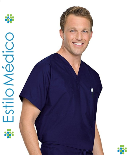 Camisa Cirúrgico - Simples - Estilo Médico Unifomes Hospitalares e612d6779b771