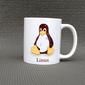 Caneca de porcelana GNU/Linux