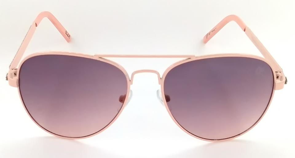 80f716a7641af Óculos de sol feminino aviador rosa fashion Club-R modelo J2079CR ...
