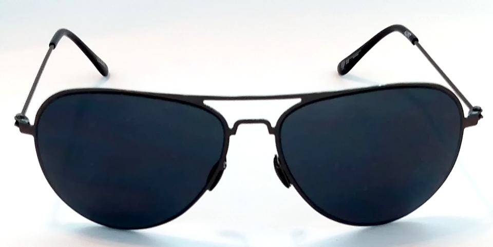 Óculos de sol unissex aviador   aviator preto - armação flat Club-R modelo  42262CR 66767aadfe