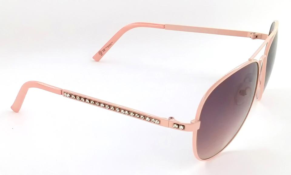 182f6b5727373 Óculos de sol feminino aviador rosa fashion Club-R modelo J2079CR ...