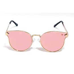 3415cba40d245 Óculos de Sol Fashion Flat Club-R modelo 25115CR - Lente Rosa Espelhado