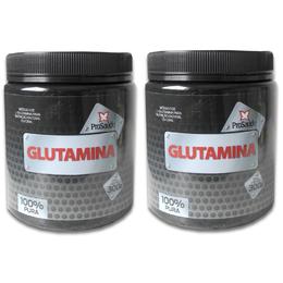 02 Glutamina 300g - PróSaude 100% pura