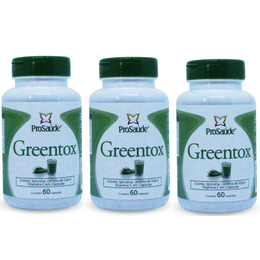 03 Greentox 60 Cápsulas de 400mg