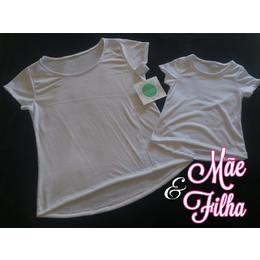 Camisa Modelo Bata Infantil para Sublimação