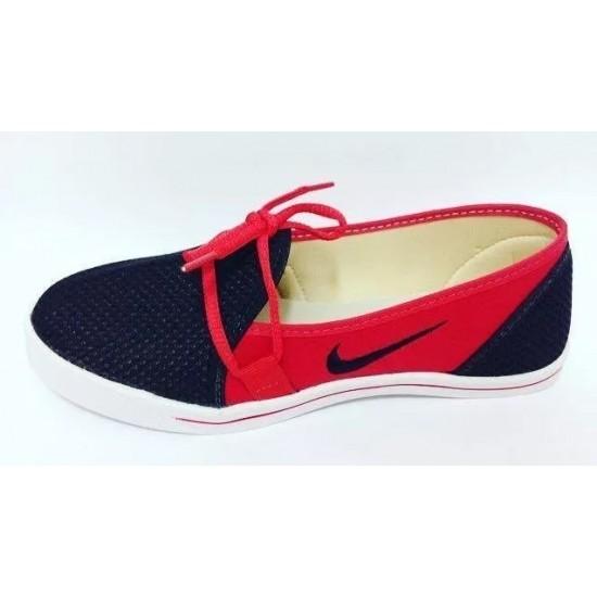 2e2ba1ae998 Sapatilha Alpargata Nike Feminina - Vermelha e Preta - Onde Comprar ...