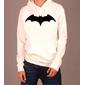 Blusa Moletom Batman, Masculino, Feminino, Branco, Preto, Cinza, Comprar