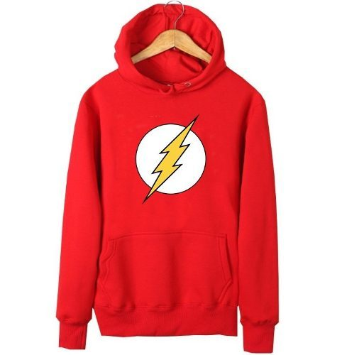9ccdfca6ef Blusa Moletom The Flash Star - 2 Cores