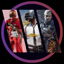 R$100 em jogos Aleatórios Steam