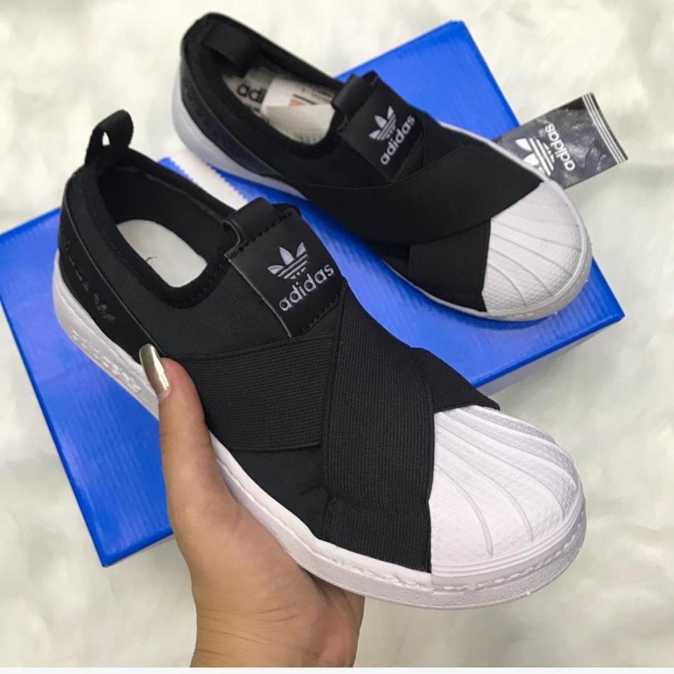 6eee912a114e2 Adidas slipe - Loja Qbonita Moda