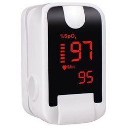 59d0f1897 Oxímetro de Dedo Pulso Oxigênio no sangue Led