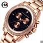 Hannah Martin 1108 Leisure Fashion Belt Luxury Women Wrist Watch - Frete Grátis