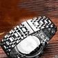 Luxo Relógios Homens de Aço Inoxidável Casual Business Watch