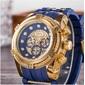 XSVO  Luxo Grande Dial Militar relógio de pulso - Frete Grátis