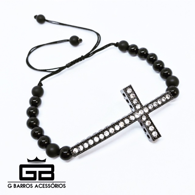 Pulseira Cross G Barros For Man