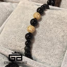 Pulseira Golden Diamond Balls G Barros For Man