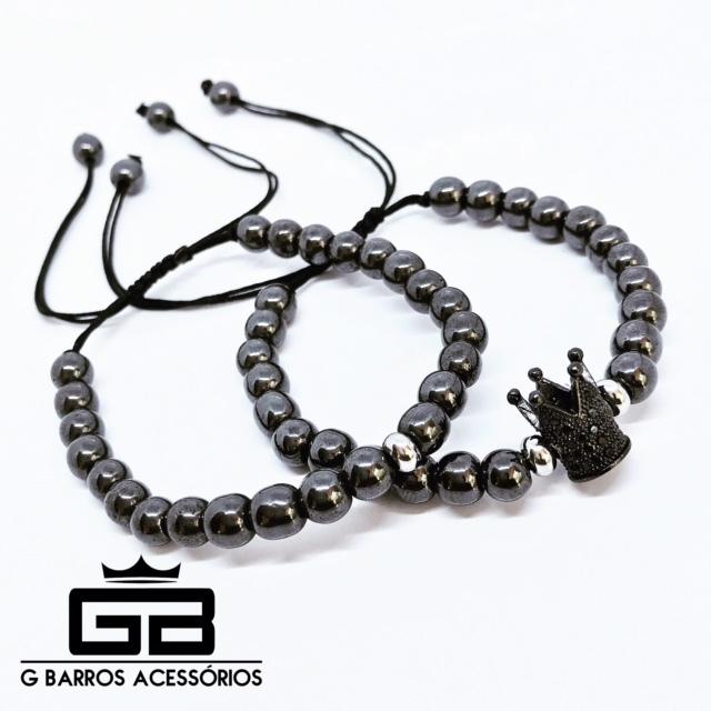 Conjunto Black Crown G Barros For Man