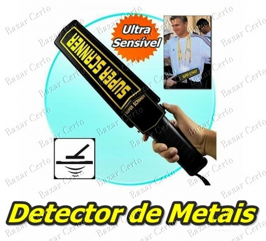 Detector de Metais Super Scanner - Garrett