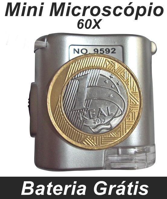 Mini Microscópio 60x