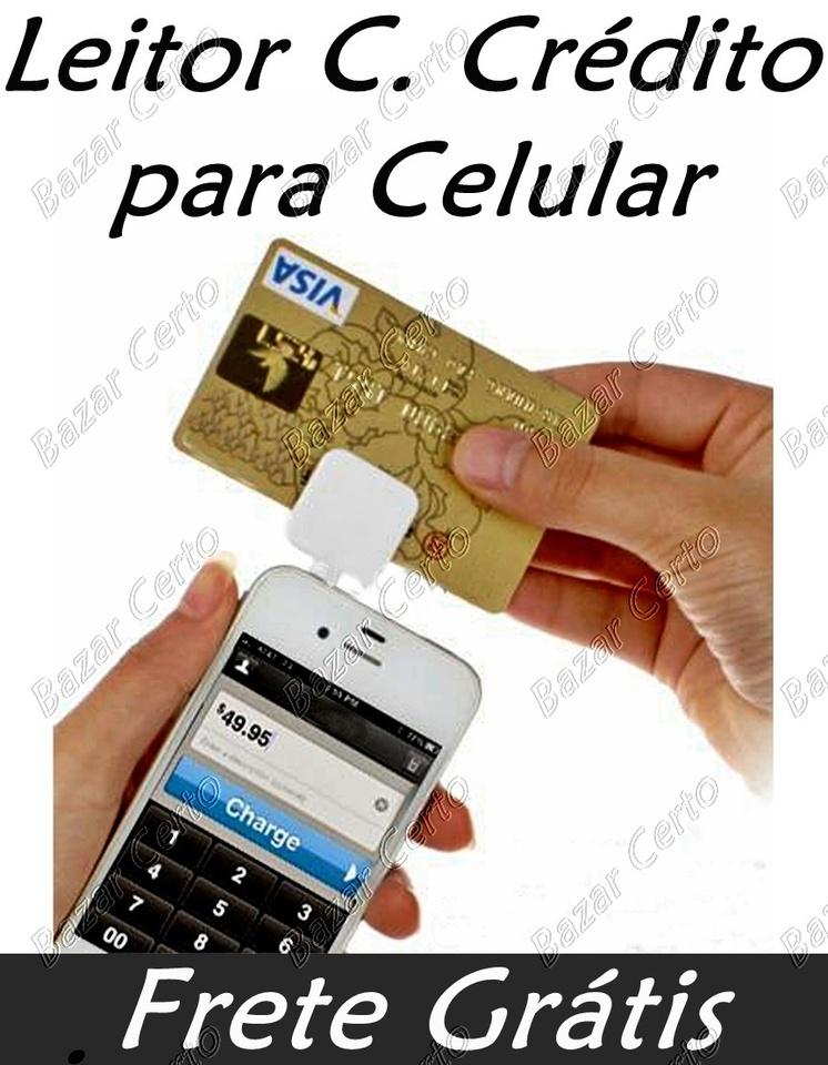 Leitor de Cartão de Crédito para SmartPhones / Tablets