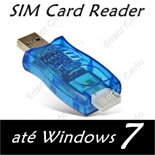 Leitor, Editor e Extrator de Informações de Cartão SIM (chip de celular)