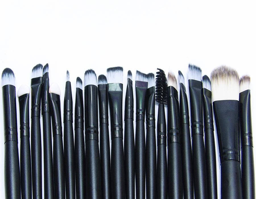 741027b433948 Kit Maquiagem Profissional 20 Pinceis a Pronta Entrega - Gamma Loja