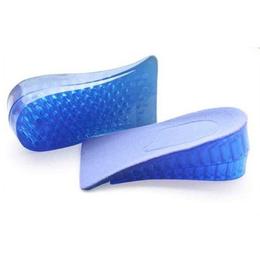 Palmilha para Ficar Mais Alto em até 4 cm Gel Silicone Confortável