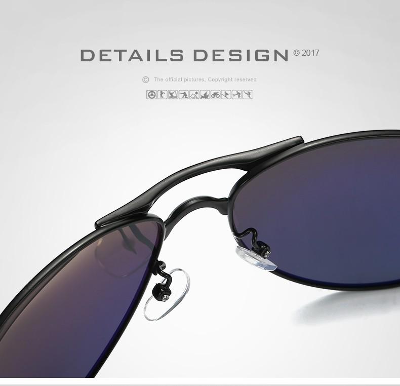 97e9aab67 ... Óculos de Sol Masculino Estilo Aviador HDCRAFTER Lentes Polarizadas ...