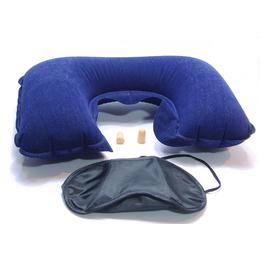 Almofada Cervical + Mascara para Olho e Tapa Ouvido para Dormir