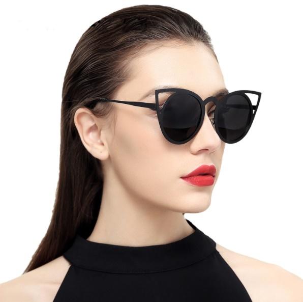 e7b5f6340 Óculos De Sol Feminino Espelhado Armação De Gatinho - Promoção - Yasa
