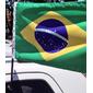 Bandeira Do Brasil Com Haste Para Carro