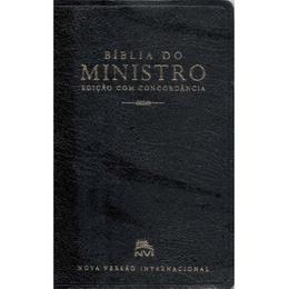 Bíblia do Ministro - Capa Luxo / Cor Preta