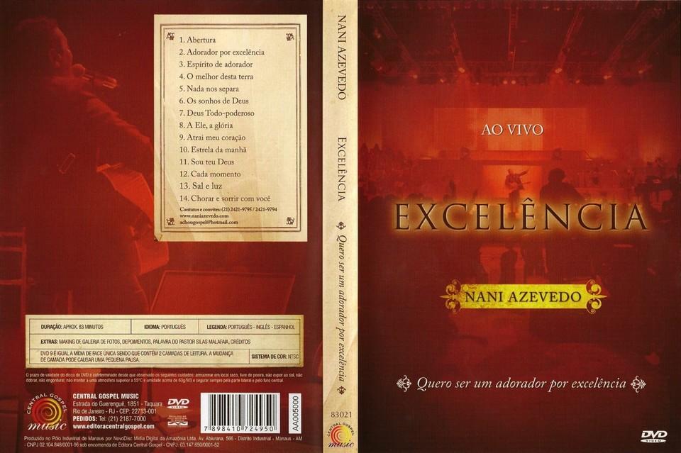 cds gospel nani azevedo excelencia vivo 2008