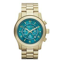 75808f9ac30 Relógio Michael Kors Mk8315 Dourado Turquesa