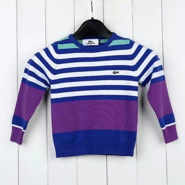 df4a7c0a439a6 Sweater infantil LACOSTE - Blue store