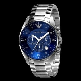 eef726b9cbe Relógio Emporio Armani Azul AR5860 Original