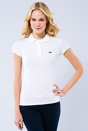 9ca4c08d963 Camisa polo feminina Lacoste clássica - Blue store