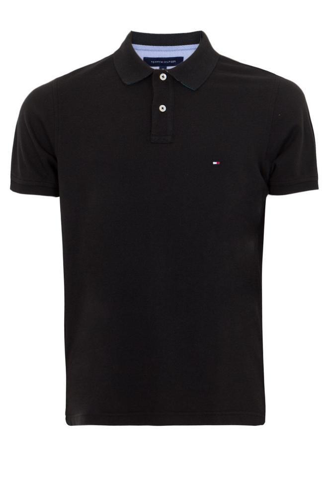 153b48548de3c Camisa Polo Tommy Hilfiger masculina preta - Blue store