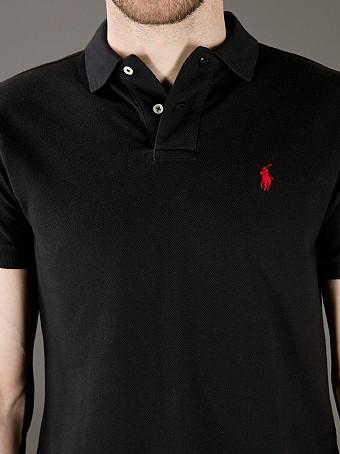 Camisa polo Ralph lauren small pony preta - Blue store 48ba2d0a6d0