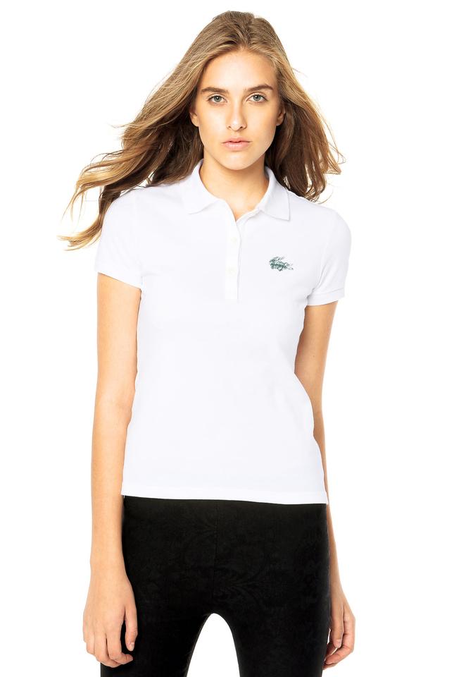 9ca4c08d963 Camisa polo feminina Lacoste clássica - Blue store
