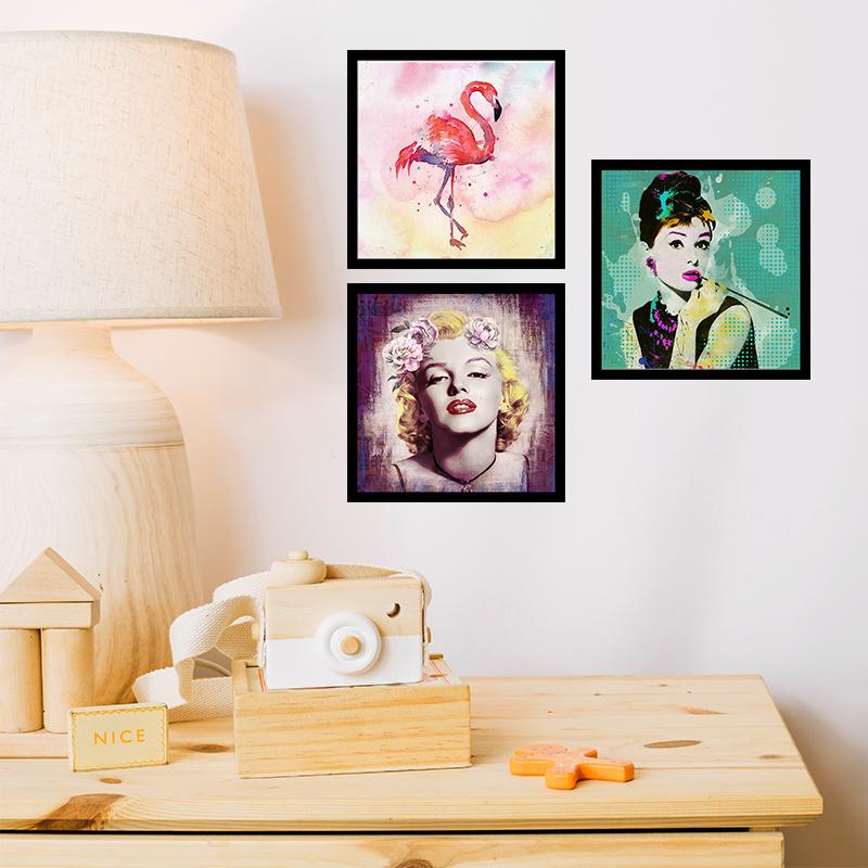Composição Bonequinha, Marylin, Flamingo