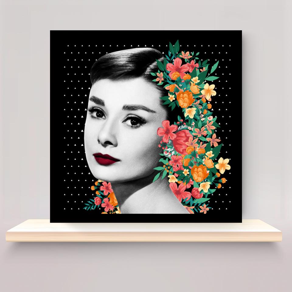 Quadro Audrey Hepburn