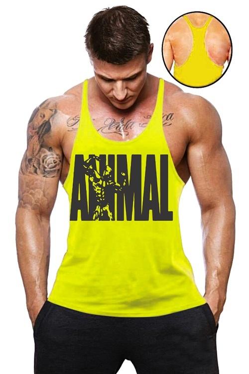 fbd3d0307a633 Camisa Regata Super Cavada Animal Pak - Loja Mutante Fitness