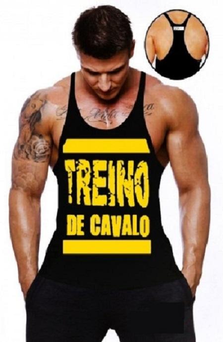fc0a5367d Camiseta Regata Masculina Treino Pra Cavalo - Loja Mutante Fitness