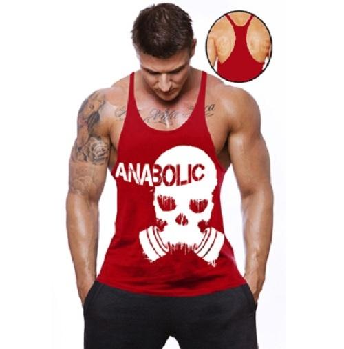 def2df0dce664 Camiseta Regata Cavada academia Anabolic - Loja Mutante Fitness