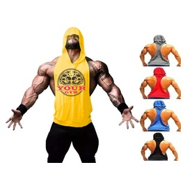 ca32faaee9 Camiseta Regata Cavada Com Capuz Justiceiro - Loja Mutante Fitness