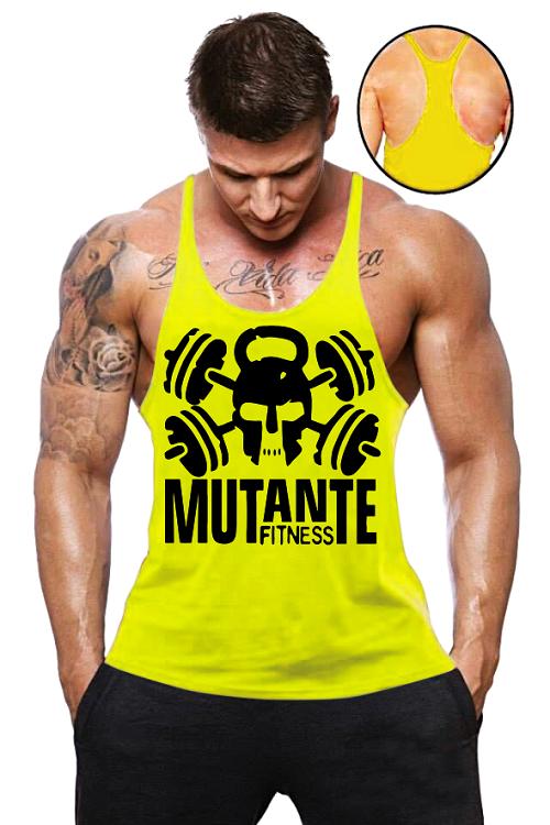 b09921dc7a Camisa Regata Super Cavada Mutante Fitness - Loja Mutante Fitness