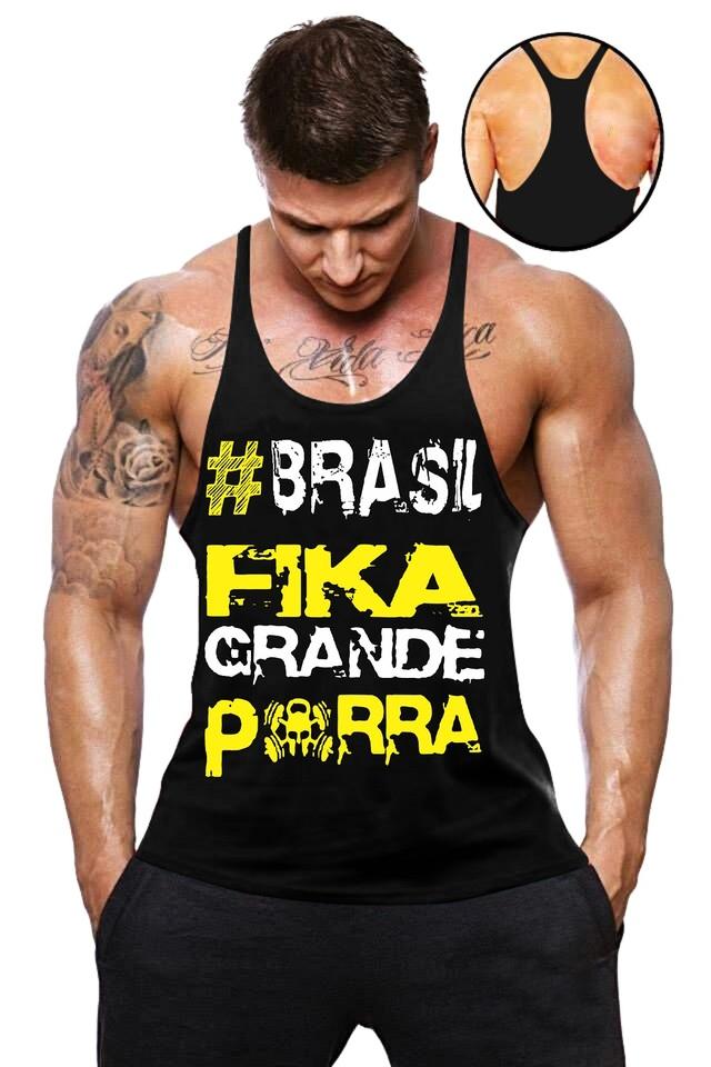 43ee20a4e6 Camisa Regata Super Cavada Musculação masculina - Loja Mutante Fitness