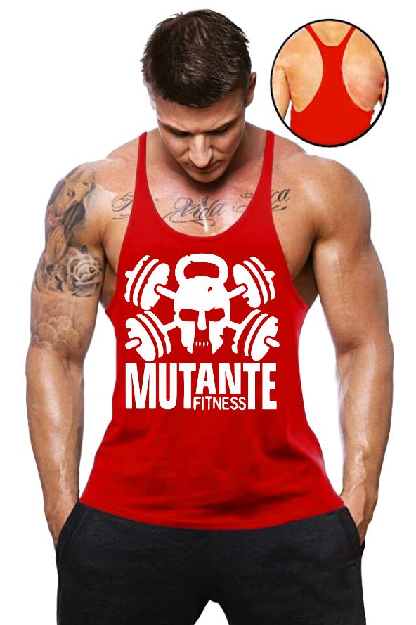 c1dbd81fc2100 Camisa Regata Super Cavada Mutante Fitness Camisa Regata Super Cavada  Mutante Fitness ...